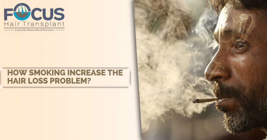 How Smoking Increase The Hair Loss Problem?