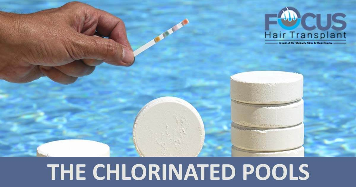 The chlorinated pools