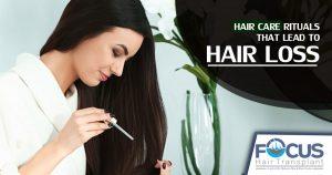 Hair care rituals that lead to hair loss