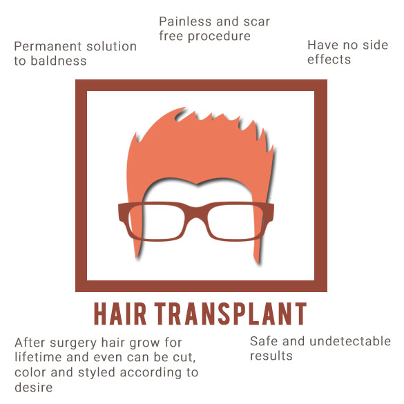 advantages of hair transpalnt surgery