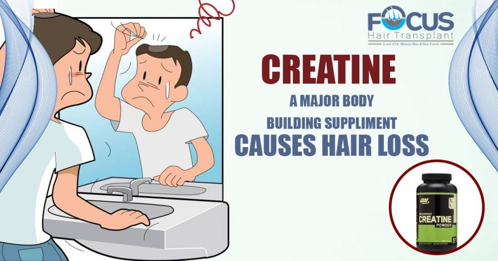 Creatine - A Major Body Building Suppliment Causes hair Loss