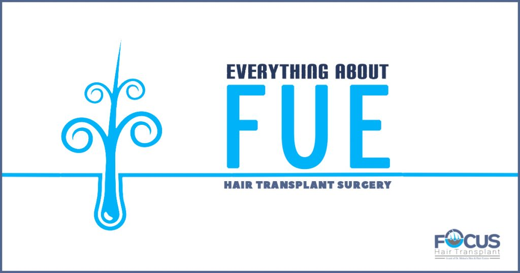 Everything About FUE hair Transplant surgery