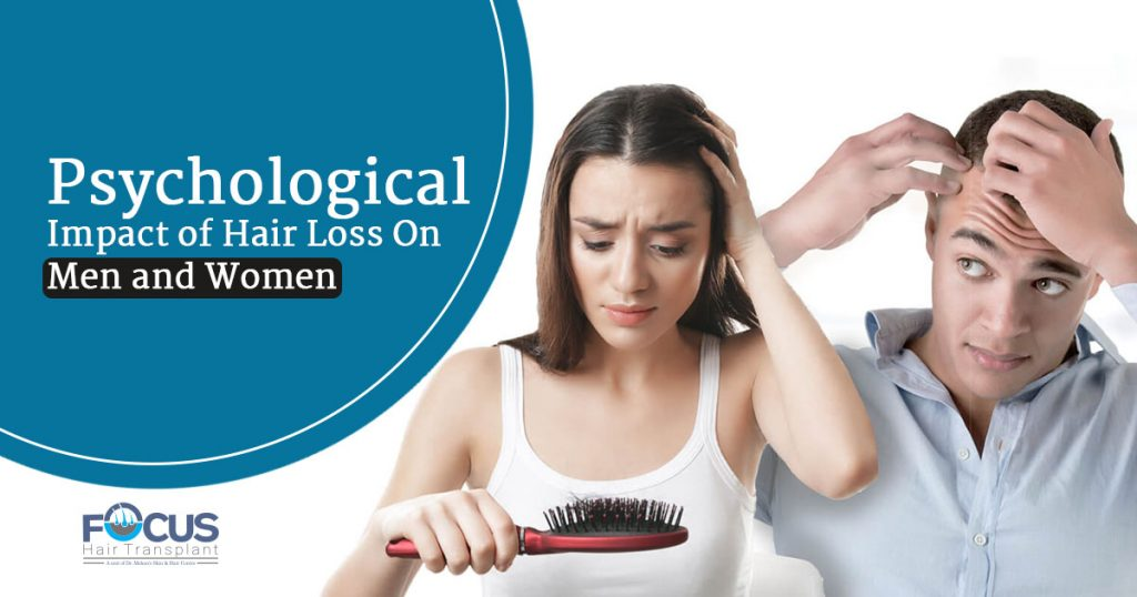Psychological impact of hair loss on men and women