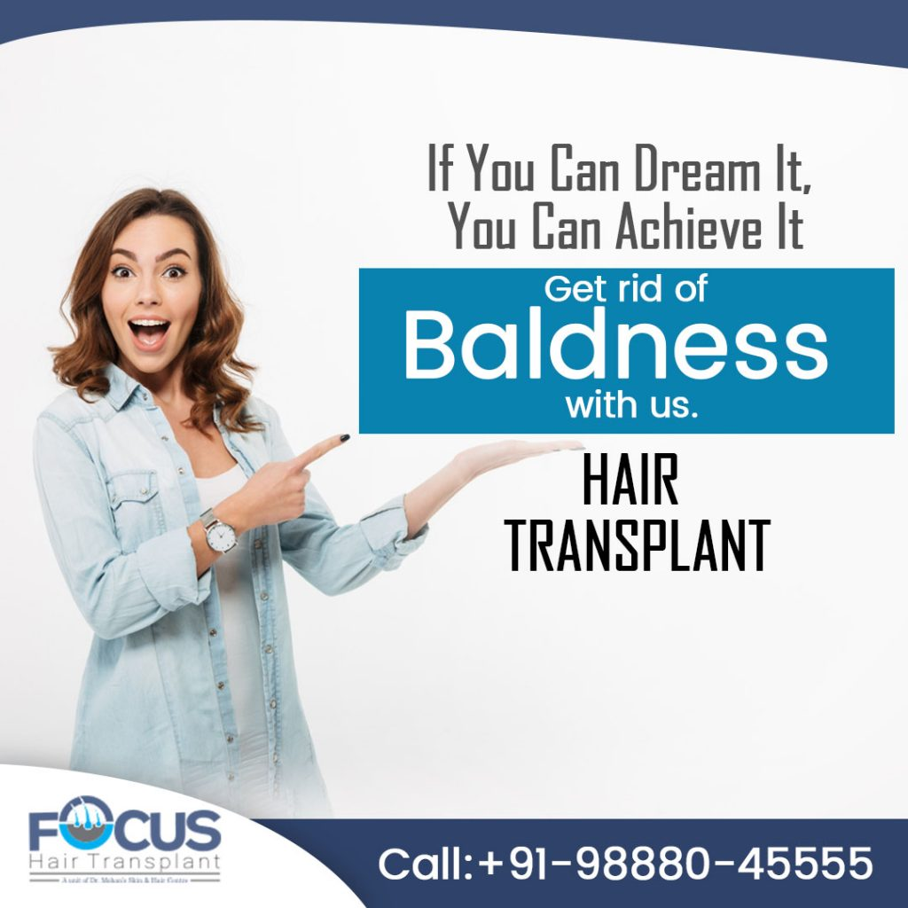 Working after hair transplant surgery